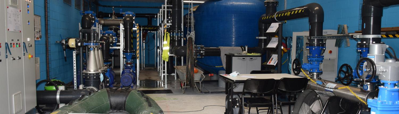 Dispositif de traitement pour avoir une eau de qualité sur l'espace baignade du site plein air Watissart